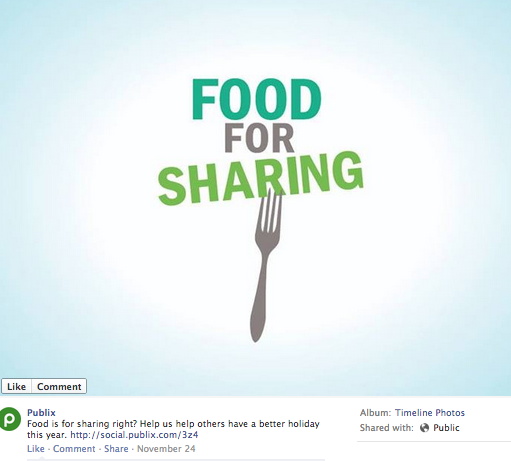 Publix_Facebook_Food_For_Sharing
