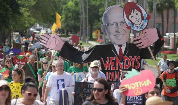 wendysprotest